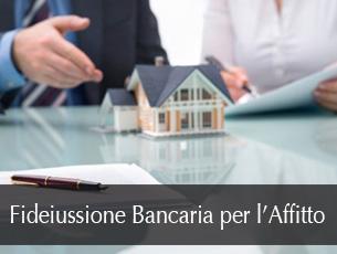 fideiussione bancaria per l'affitto