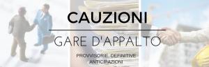 CAUZIONI GARE D'APPALTO
